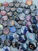 Southern Rock And Classic Rock Buttons Large Lot Pin Backs Variety Old School