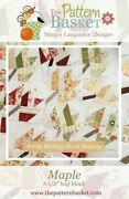 Quilt Pattern Maple Block Table Topper Or Wall Hanging The Pattern Basket