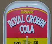 Rc And Moon Pie Royal Crown Cola - Gas Station / Country Store - Thermometer Sign