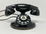Western Electric 202 E-1 Restored Art Deco 1930andrsquos Working Telephone With Ringer