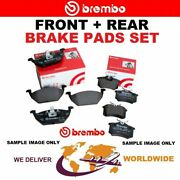 Brembo Front + Rear Axle Brake Pads Set For Mercedes Benz Slr 5.4 2004-on