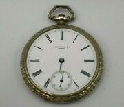 Antique Patek Philippe And Co For C.s. Ball Pocket Watch Circa 1889
