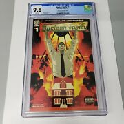 Nuclear Family 1 Cgc 9.8 Aftershock Comics Ambassador Exclusive Variant 2021
