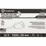 Coleman Cable 100 Ft. 12/3 Cold Weather Extension Cord 1689sw0002 Pack Of 4