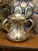 Superb Sterling Silver And Co Art Nouveau Loving Cup Or Trophy