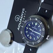 Rare Aquadive Diver 46mm Mod 77 Automatic Limited 2013 Reedition Box And Papers