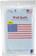 Jack Dempsey Stamped White Wall Or Lap Quilt 36x36-u.s.a. -739 450