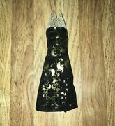Monster High 13 Wishes Haunt The Casbah Clawdeen Wolf Doll's Black And Gold Dress