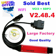 Large Cable Quality A+ Vci3 V2.48.4 Sdp3 Scanner -vci Wireless Truck Diagnosis