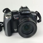 As-is For Parts Or Repair Only - Canon Powershot Sx10 Is 10.0mp Digital Camera