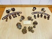 Part 1963 Cadillac Deville Rear Bumper Hardware Nuts And Bolts