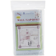 Jack Dempsey Stamped White Wall Or Lap Quilt 36x36-barn -739 76