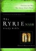 The Ryrie Nas Study Bible Hardback Red Letter [ryrie Study Bibles 2008]