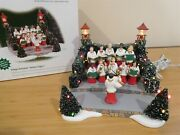 Dept 56 Accessory - Village Animated Holiday Singers - Free Shipping