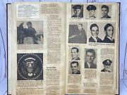 Vintage 1940-1960and039s Scrapbook Clippings Ephemera Ww2 Religious Texas Obits Full