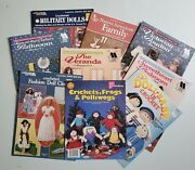 Crochet Dolls Doll Clothes Doll Furniture Pattern Books And Leaflets -- You Choose