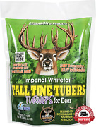 Whitetail Institute Tall Tine Tubers Deer Food Plot Seed - Turnips Provide Two F