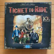 Days Of Wonder Ticket To Ride 10th Anniversary Edition Toys And Hobbies