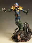 Sideshow Exclusive 1st Judge Dredd Figure Statue Pop Culture Shock Only 150 Made