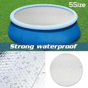 Round Swimming Pool Cover For Intex Garden Paddling Pools Cover 5 Sizes