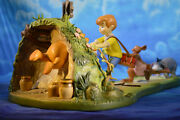 Wdcc Winnie The Pooh And Friends Hooray Hooray For Pooh Will Soon Be Free New