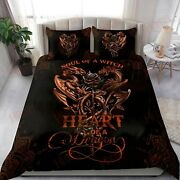 Dragon Soul Of A Witch Heart Of A Dragon Bedding Sets Home Decor