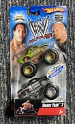 2007 Hot Wheels Smack Pack 2 The Rock Stone Cold Monster Jam Trucks Exclusive