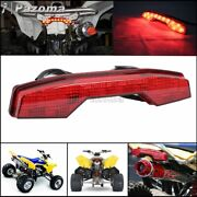 For Suzuki Ltr450 06-09 Atv Rear Led Tail Light Assembly Red Brake Stop Lamp Abs