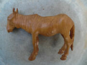 Emil Janel Swedish/american 1897-1981 Depiction In Wood Of A Retired War Horse