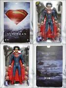 Hot Toys Movie Masterpiece Man Of Steel 1/6 Scale Figure Superman Boxed