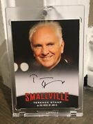 2012 Smallville Season 7 To 10 Terence Stamp As Jor-el Signed Autograph Card A14