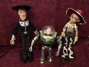 Disney Store Limited Edition Toystory3 Talking Jessie Woody Buzz Collector Doll