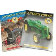 Antique Tractor Power Magazines 2018 March/april - September/october 30 Lot Of 2