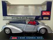 Sun Star 118th Scale 1939 Horch 855 Roadster Mint Condition And Boxed