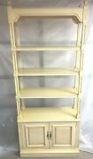 Ethan Allen Etagere Classic Manor Maple Wall Unit 25-9040