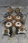 2018 Ford Mustang Shelby Gt 350 Oem Brembo Brake Calipers And Spindle Swap Kit