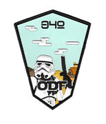 Belgian Airforce 349 Sqn F-16 Viper Star Wars Force Protection Pvc Patch