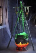 Halloween 5ft Cauldron Witches Led Sound Activated Spooky Sold Out Hard To Find