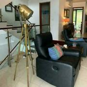 Antique Brown Stainless Steel Floor Lamp/searchlight Vintage Home Decor
