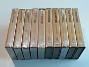 Lot Of 10 Gunsmoke The Collectorand039s Edition Vhs Movie Tapes Plastic Clam Shells