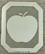 Two Ringo Or Robin Apple Mirror Sold By Apple Offices 1970's Ringo Starr Beatles