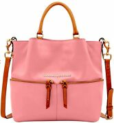 Nwt Dooney And Bourke City Dawson And Matching Wallet Set Bubblegum Factory Sealed