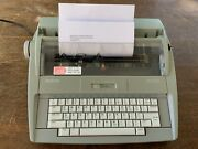 Brother Sx-4000 Electric Typewriter Daisy Wheel Lcd Digital Display Tested