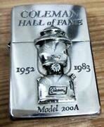Coleman 200a Limit Zippo Lighter With Cereal