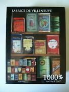 Never Used Andrews + Blaine Antique Tins Jigsaw Puzzle 1000 Piece