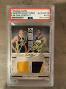 Paul George And Gordon Hayward Rookie Jersey Card /49, Autographed By Both 1/1