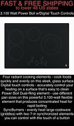 Free Shipping New Gepower Boil 3100-watt-digital Touch Controls-30andrdquo Cooktop