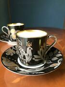Noritake  Cup Amp Saucer Jewelry Collection 2 Pieces 4667