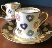 Noritake  Cup Amp Saucer Jewelry Collection 2 Pieces 4668