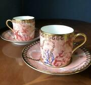 Noritake  Cup Amp Saucer Jewelry Collection Set Of 2 4666
